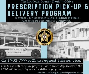 Loudoun County Sheriff's Office Prescription Pick-Up & Delivery Program
