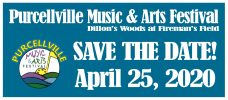 Purcellville Music and Arts Festival, April 25th, 2020